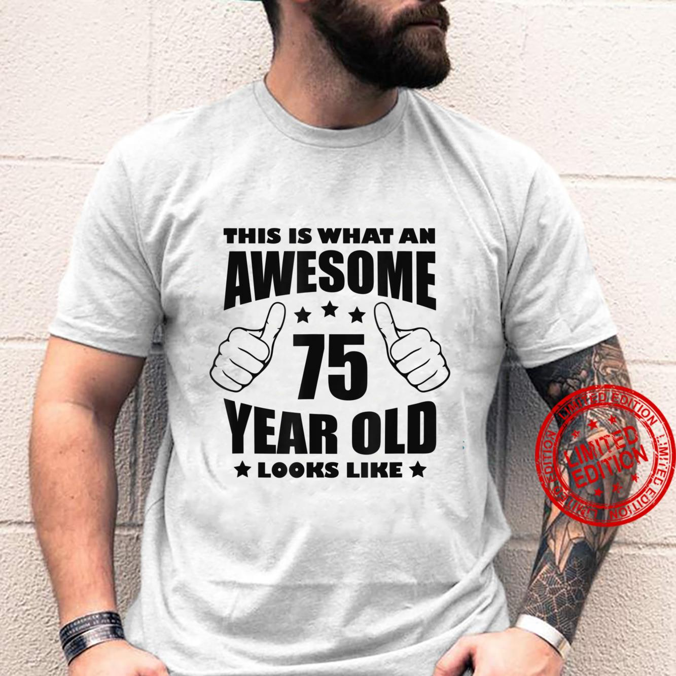 75th Birthday Awesome for her 75 Year Old Grandma 1946 Shirt