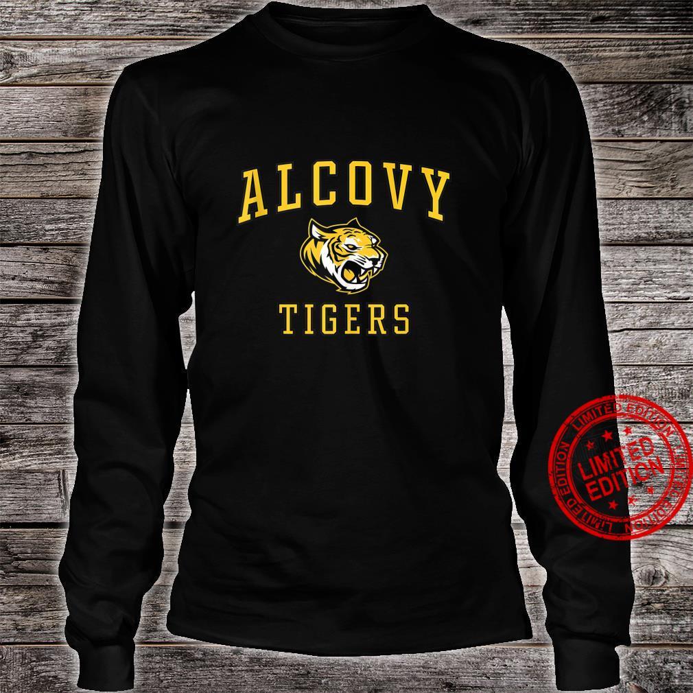 Alcovy High School Tigers Shirt long sleeved