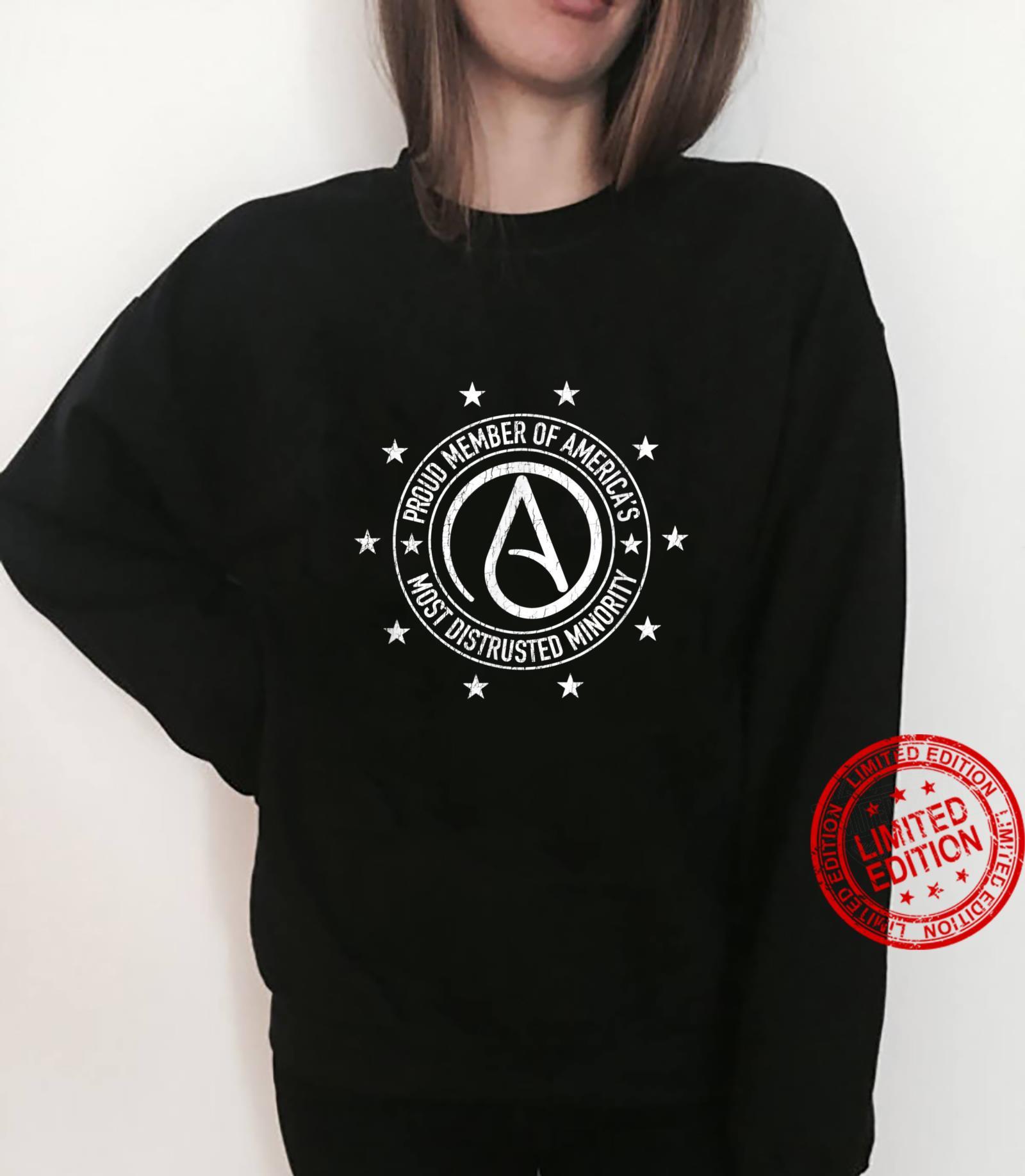 AntiReligion Humor Atheism Symbol Atheist Shirt sweater