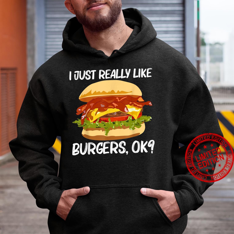 Best Burger Design Hamburger Sandwichs Shirt hoodie