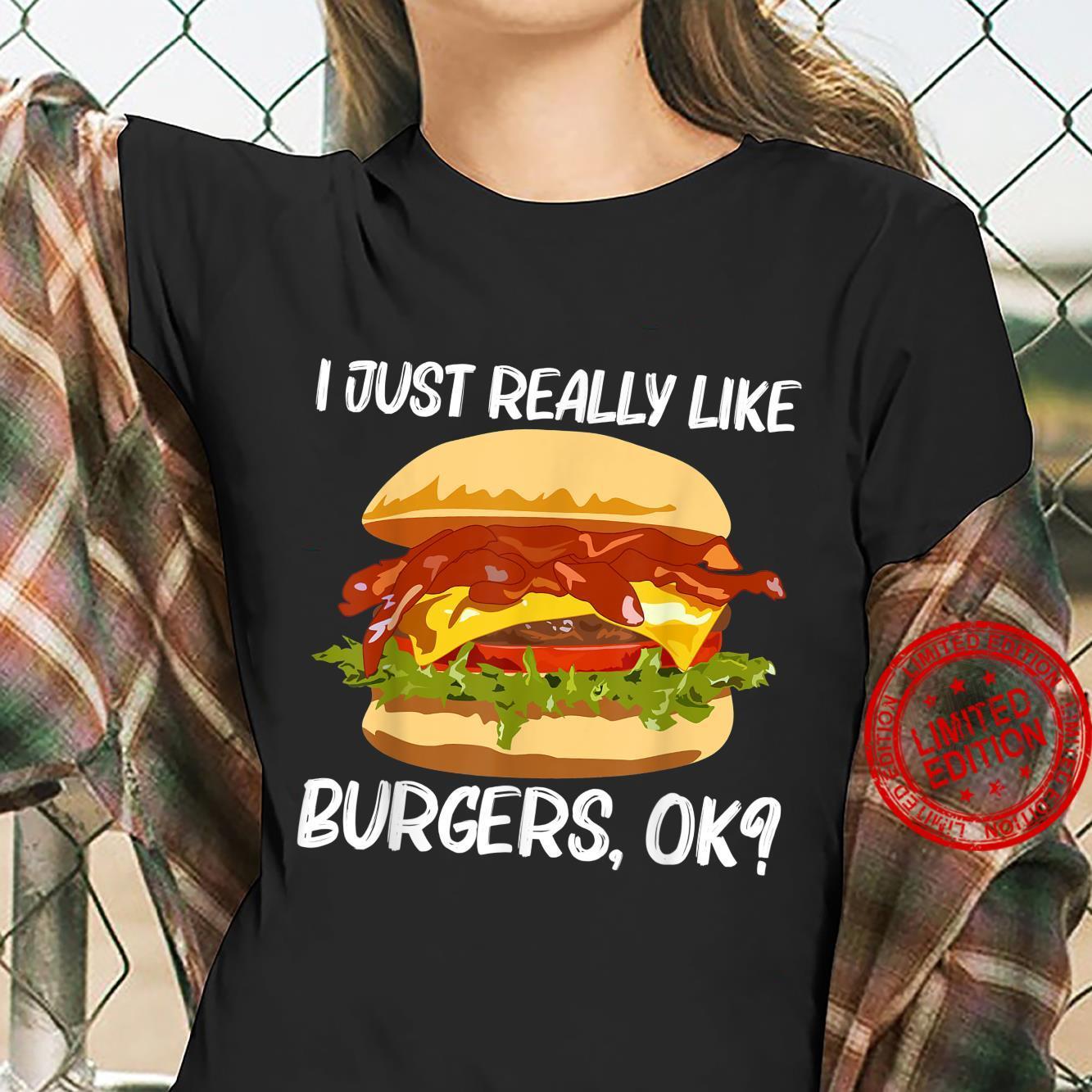 Best Burger Design Hamburger Sandwichs Shirt ladies tee
