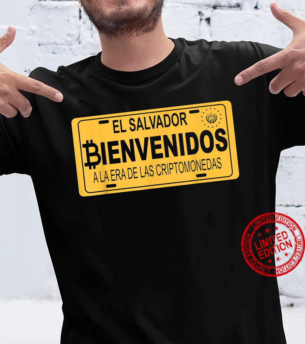 Bienvenidos a la Era De Las Criptomonedas En El Salvador Shirt