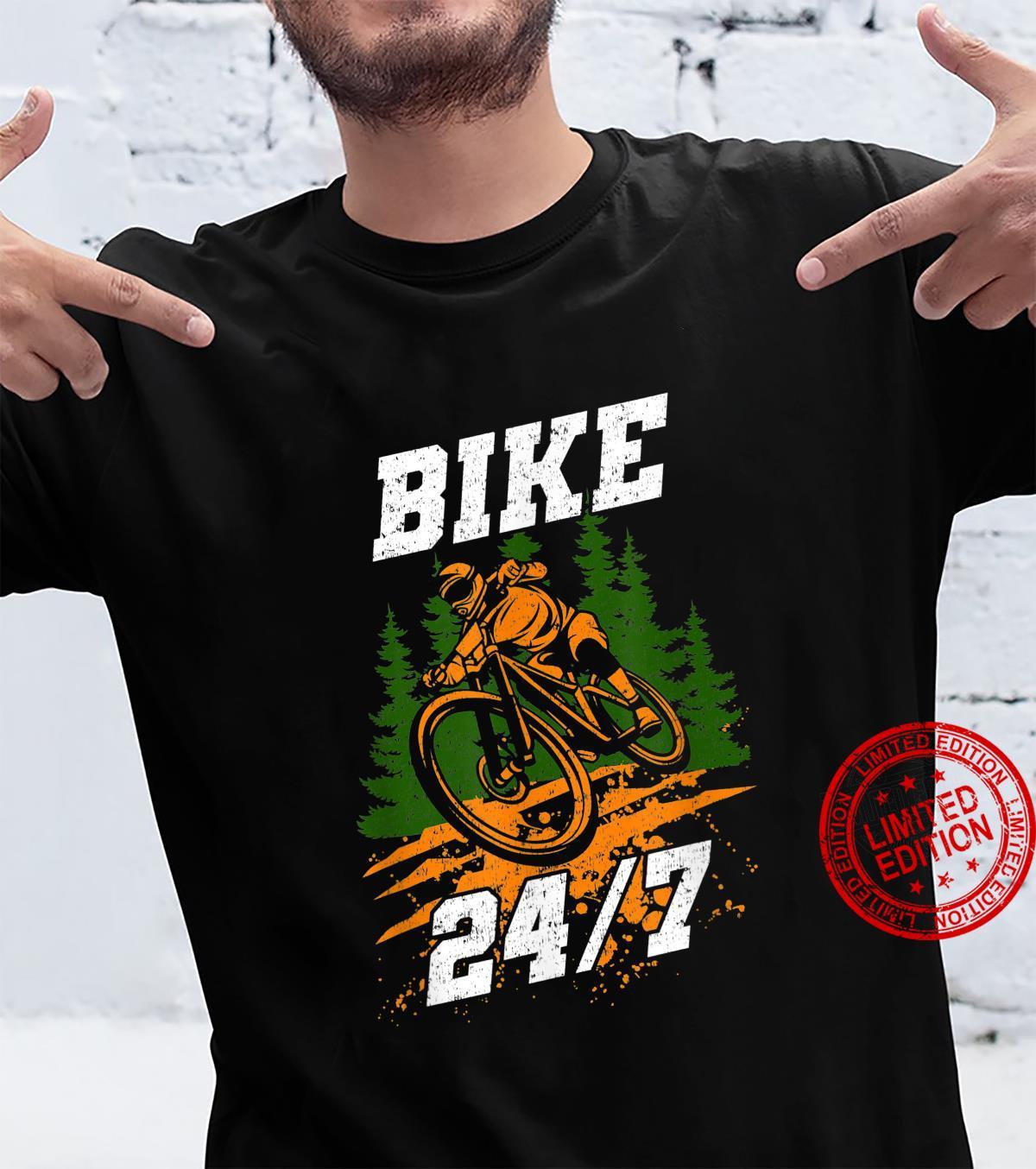 Bike 247 Bicycle Mountain Bike MTB Shirt