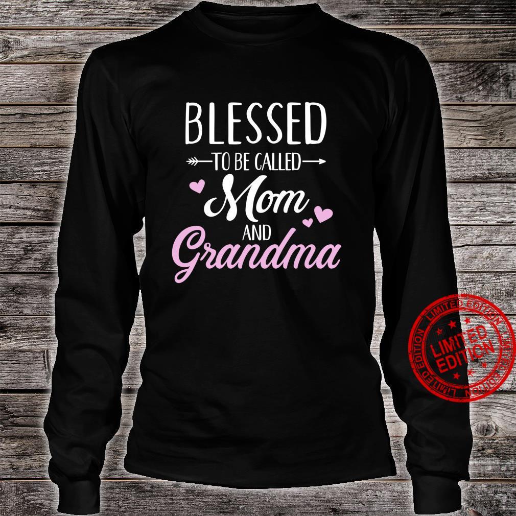 Blessed grandma Shirt long sleeved