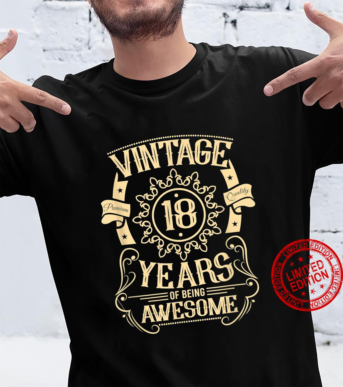 Born 2003 18th Birthday Vintage Shirt