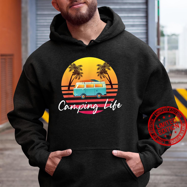 Camping Life Van Bus for Camper Caravan Shirt hoodie