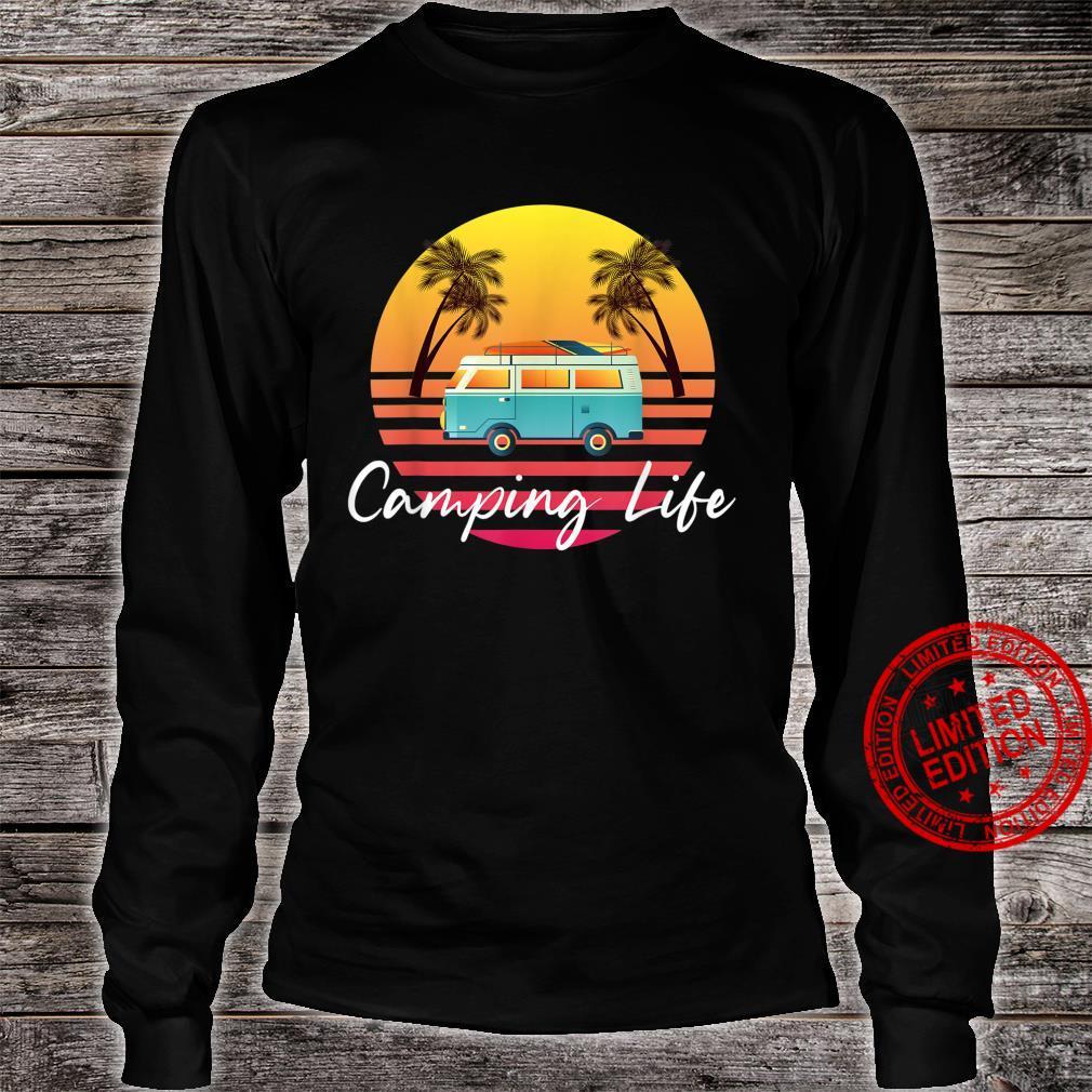 Camping Life Van Bus for Camper Caravan Shirt long sleeved