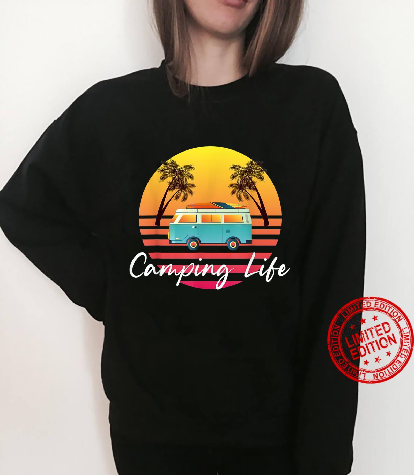 Camping Life Van Bus for Camper Caravan Shirt sweater