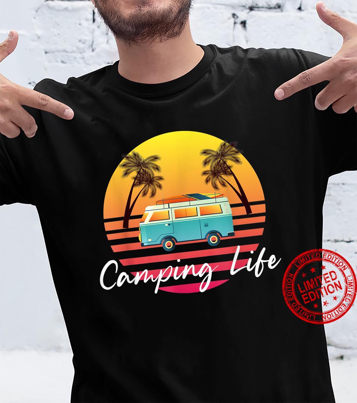 Camping Life Van Bus for Camper Caravan Shirt