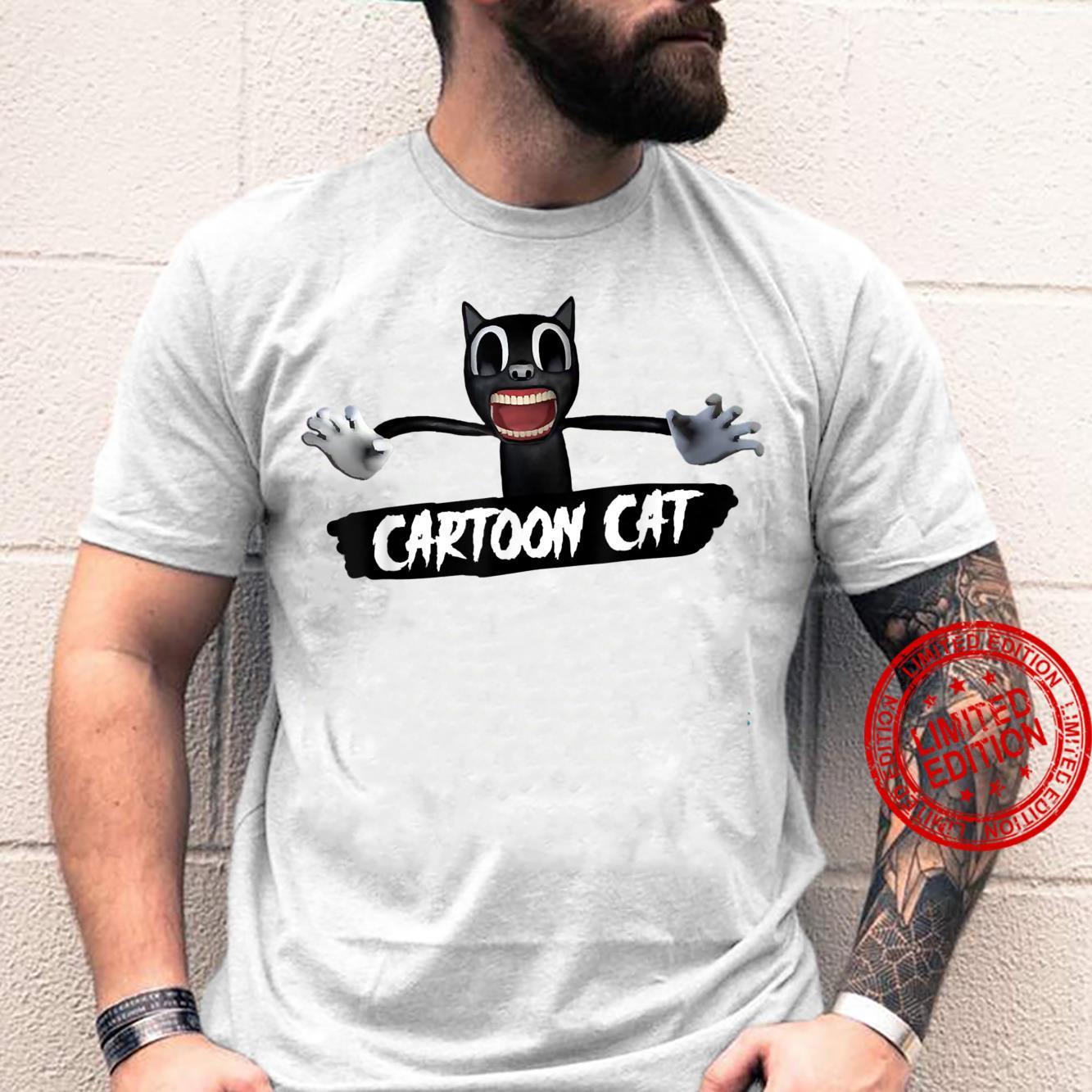 Cartoon C.a.t Shirt