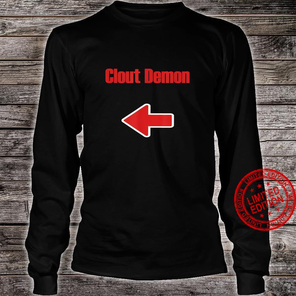 Clout Demon Shirt long sleeved