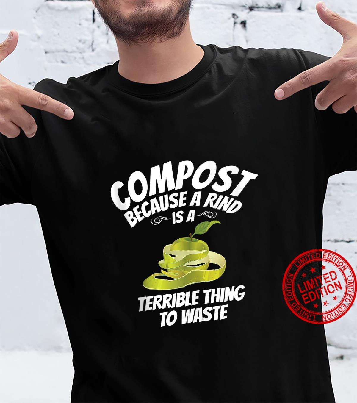 Compost Inspired Composting Related Composter Design Shirt