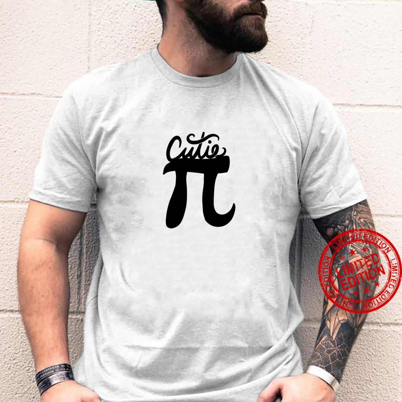 Cutie Pi Day art pi symbol Shirt