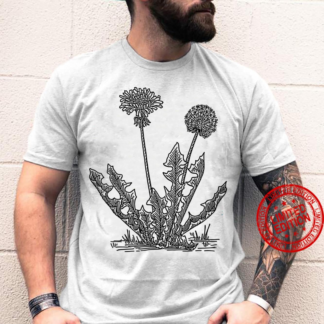 Dandelion Flower Shirt