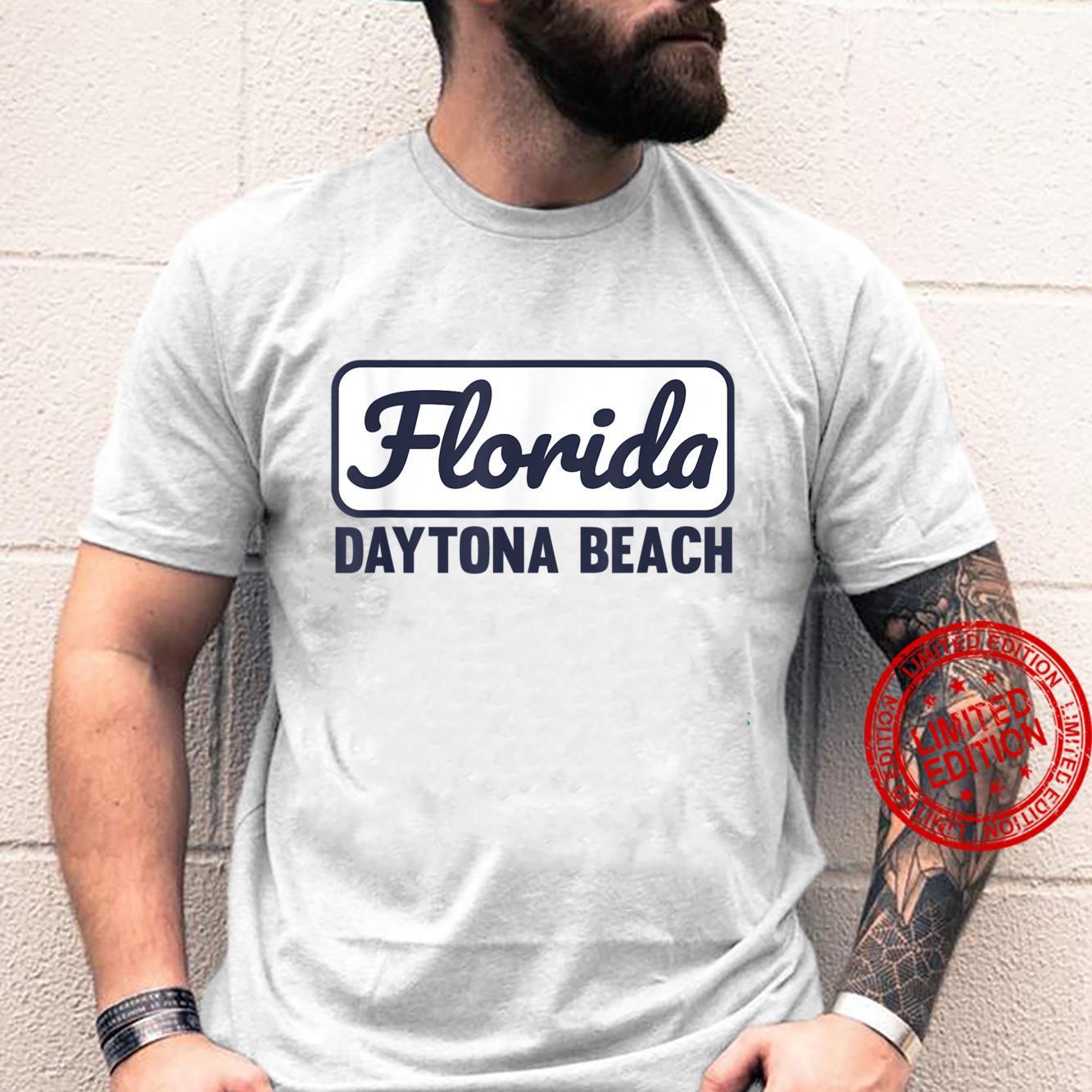 Daytona Beach FL Cool Designed Daytona Beach Florida Local Shirt