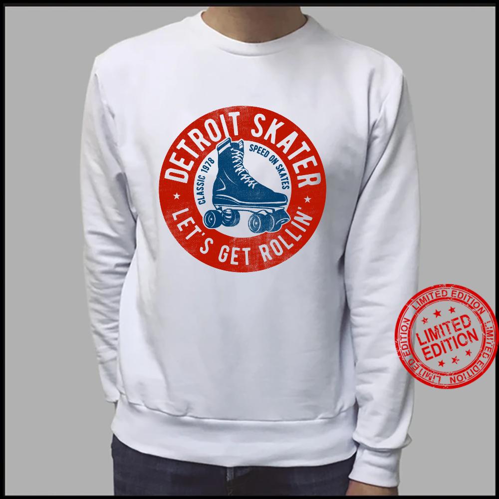 Detroit City Roller Skater gear. Vintage Shirt sweater