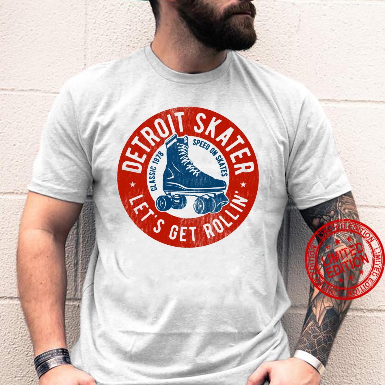 Detroit City Roller Skater gear. Vintage Shirt