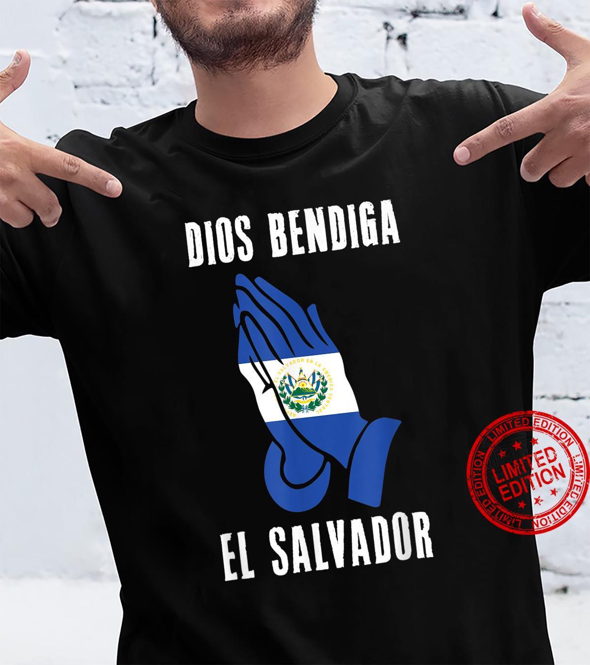 El Salvador Dios Bendiga Pupusas Salvadoreno Bukele Idea God Shirt