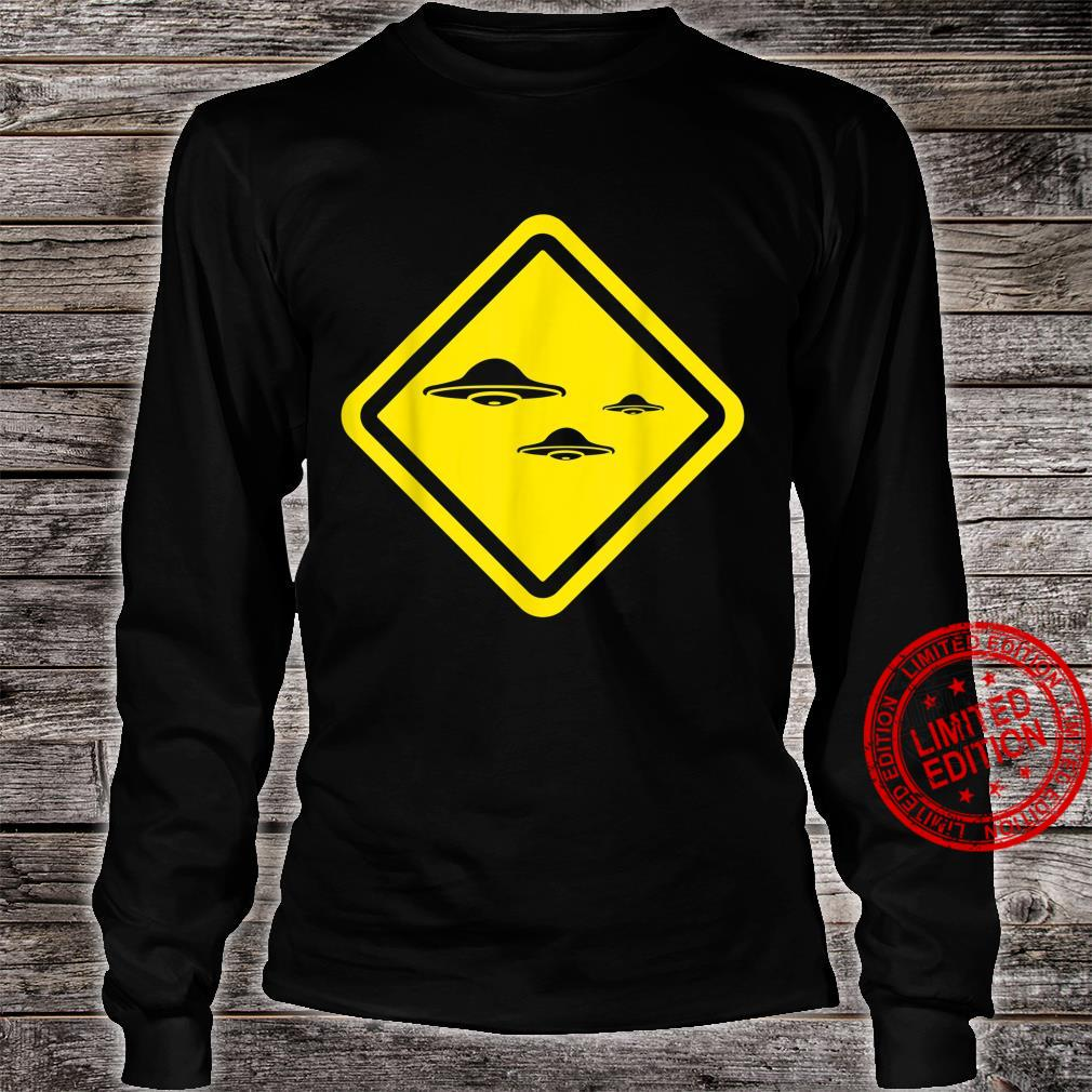 Flying Saucers Alien Enthusiast Idea UFO Believer Shirt long sleeved