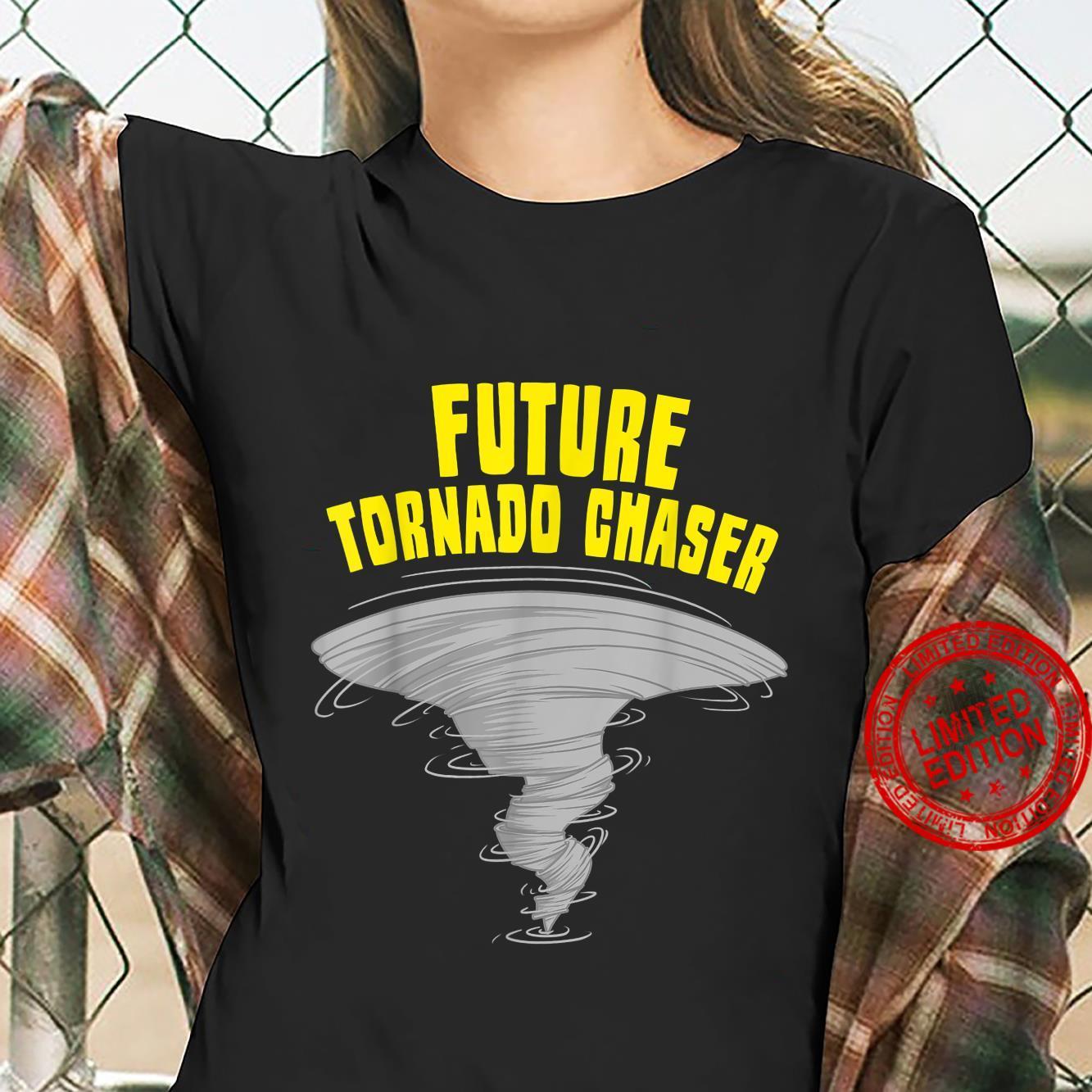 Funny Tornado Designs Storm Meteorologists Shirt ladies tee