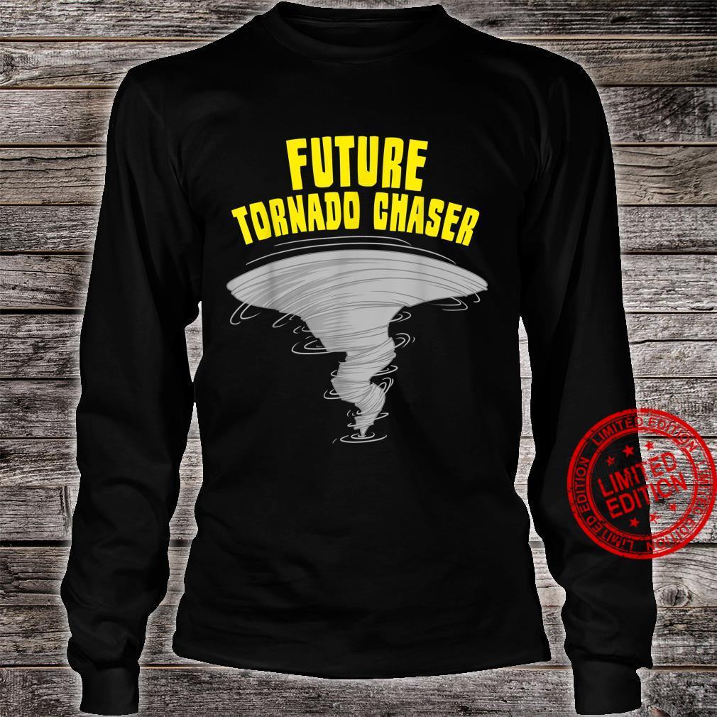 Funny Tornado Designs Storm Meteorologists Shirt long sleeved