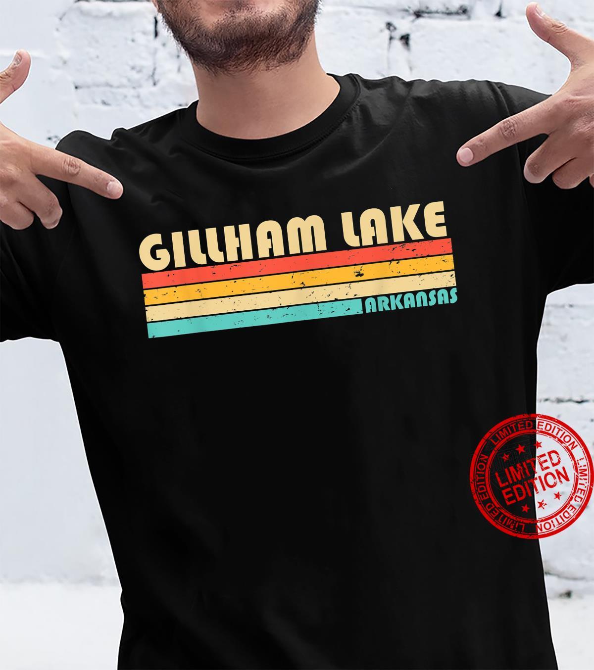 GILLHAM LAKE ARKANSAS Fishing Camping Summer Shirt