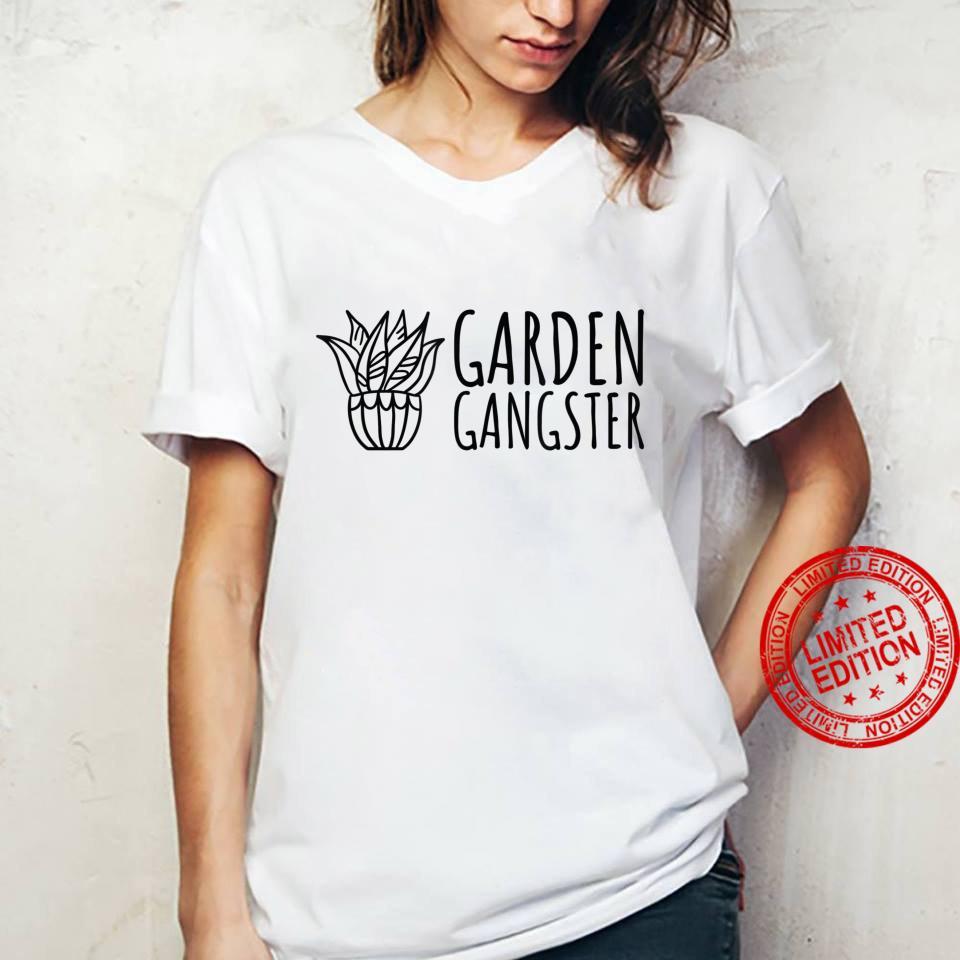 Garden Gangster Plant and Gardening Shirt ladies tee