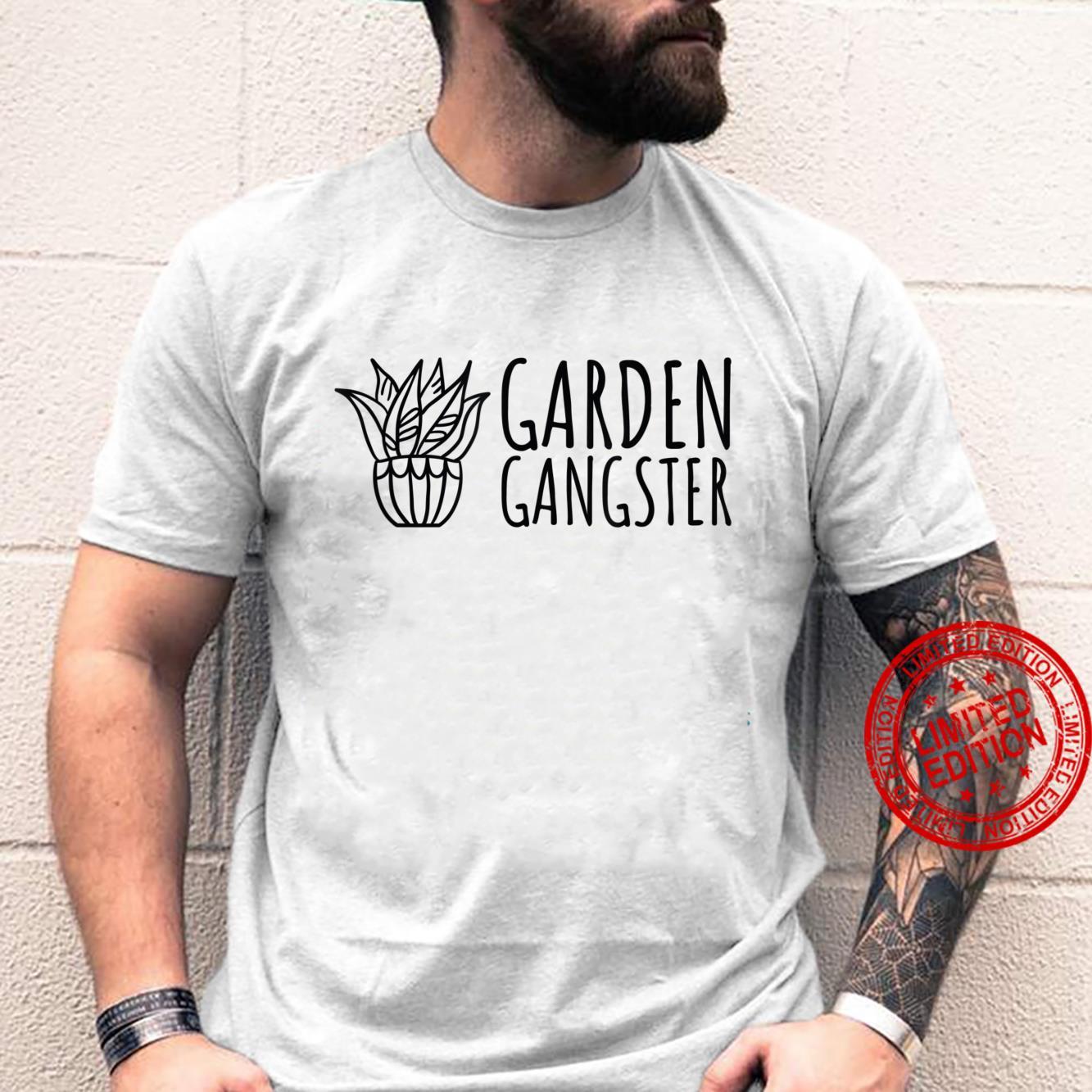 Garden Gangster Plant and Gardening Shirt
