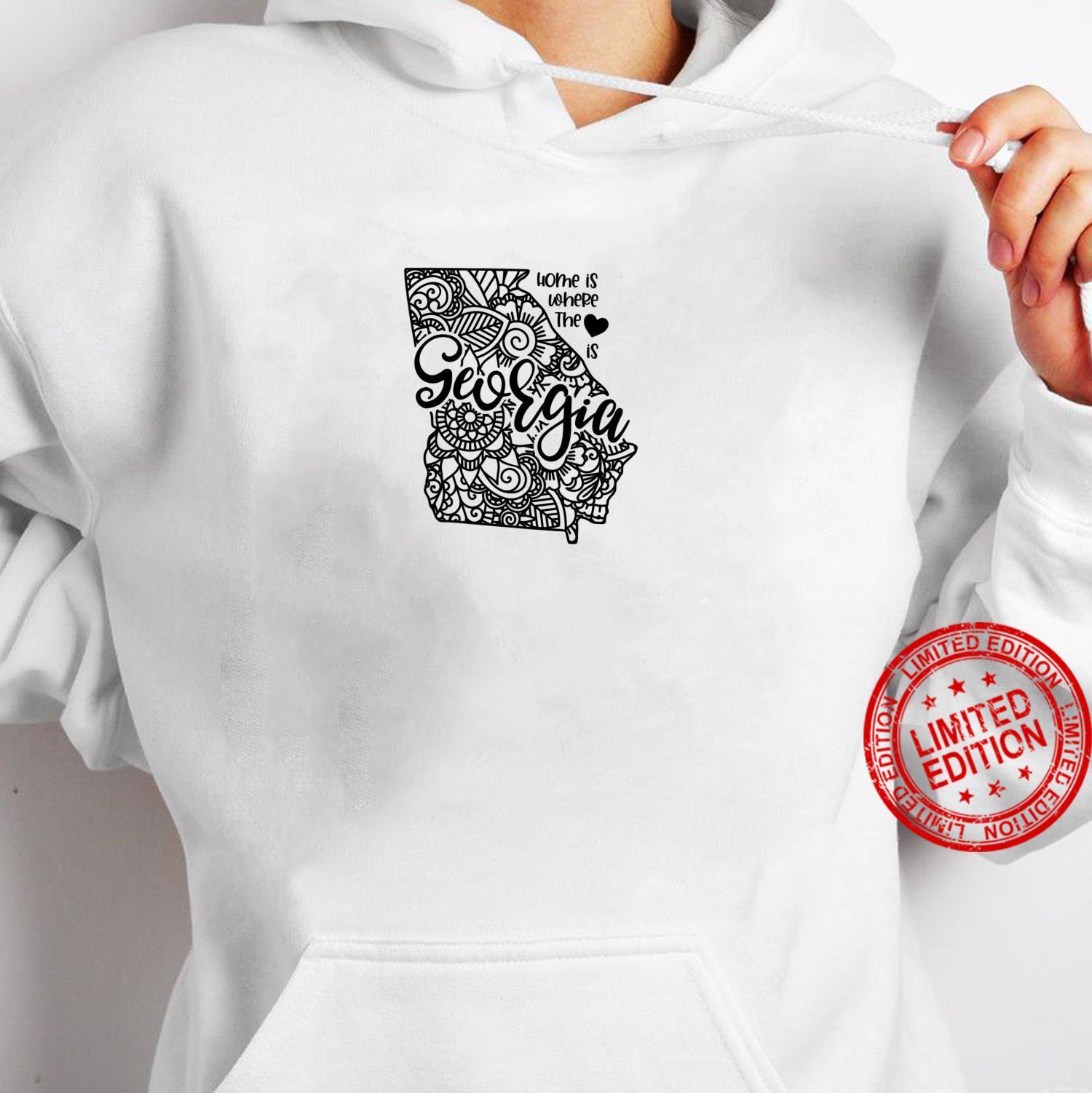 Georgia State Meme With Line Art Shirt hoodie