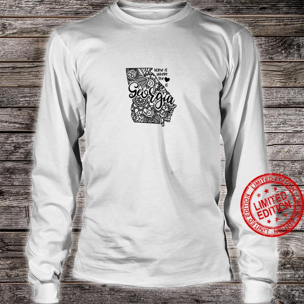 Georgia State Meme With Line Art Shirt long sleeved