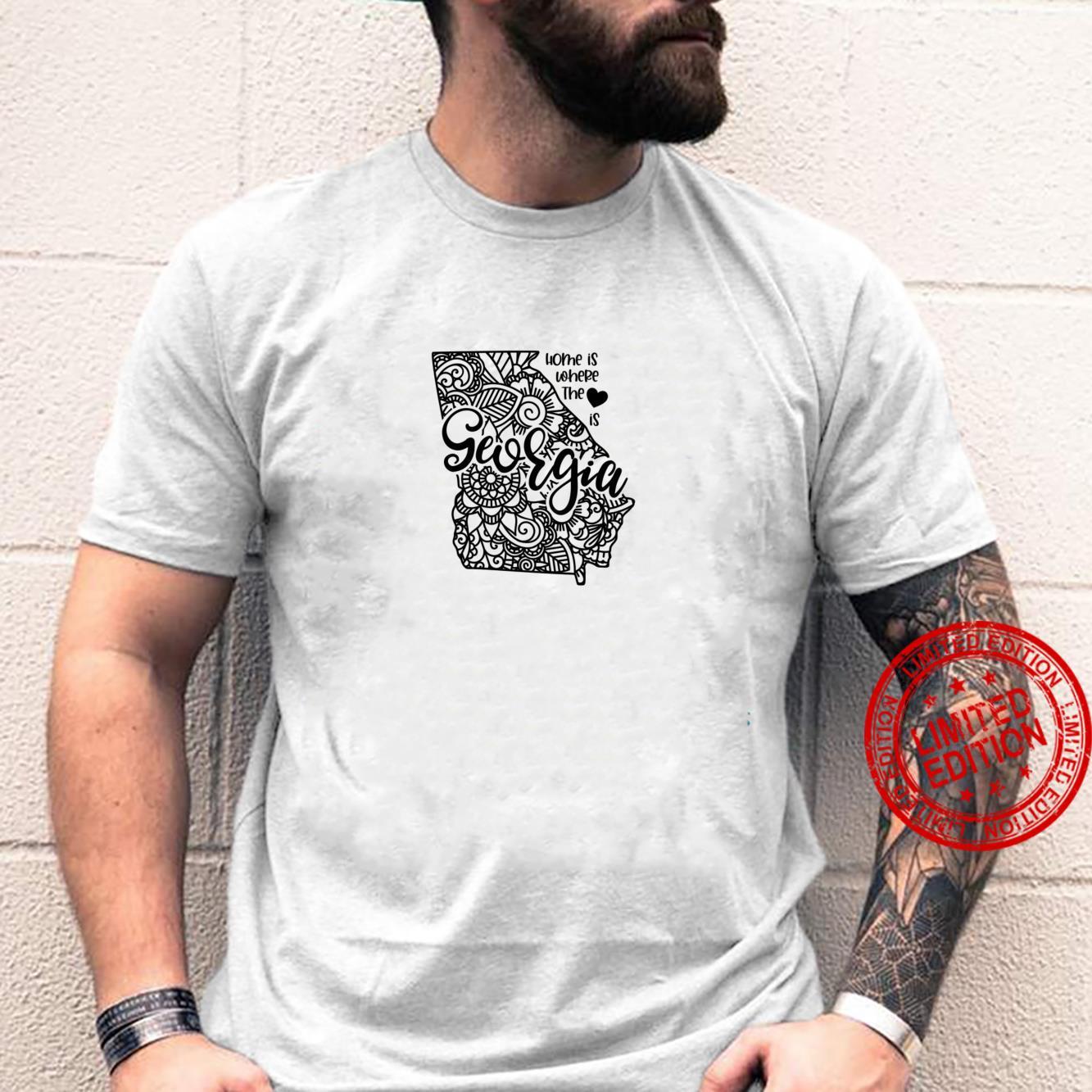 Georgia State Meme With Line Art Shirt