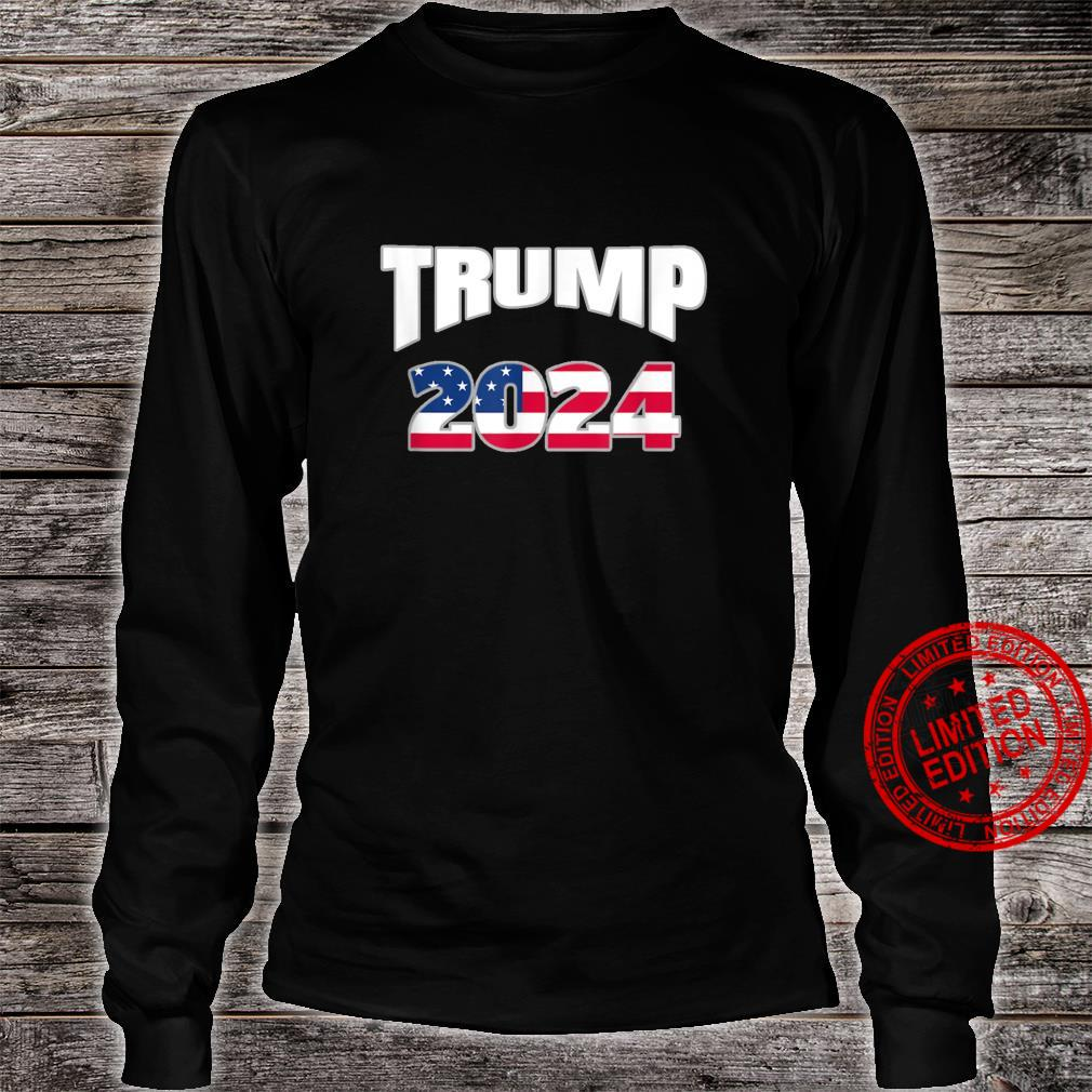 Get out the vote TRUMP 2024. America votes. Election Shirt long sleeved