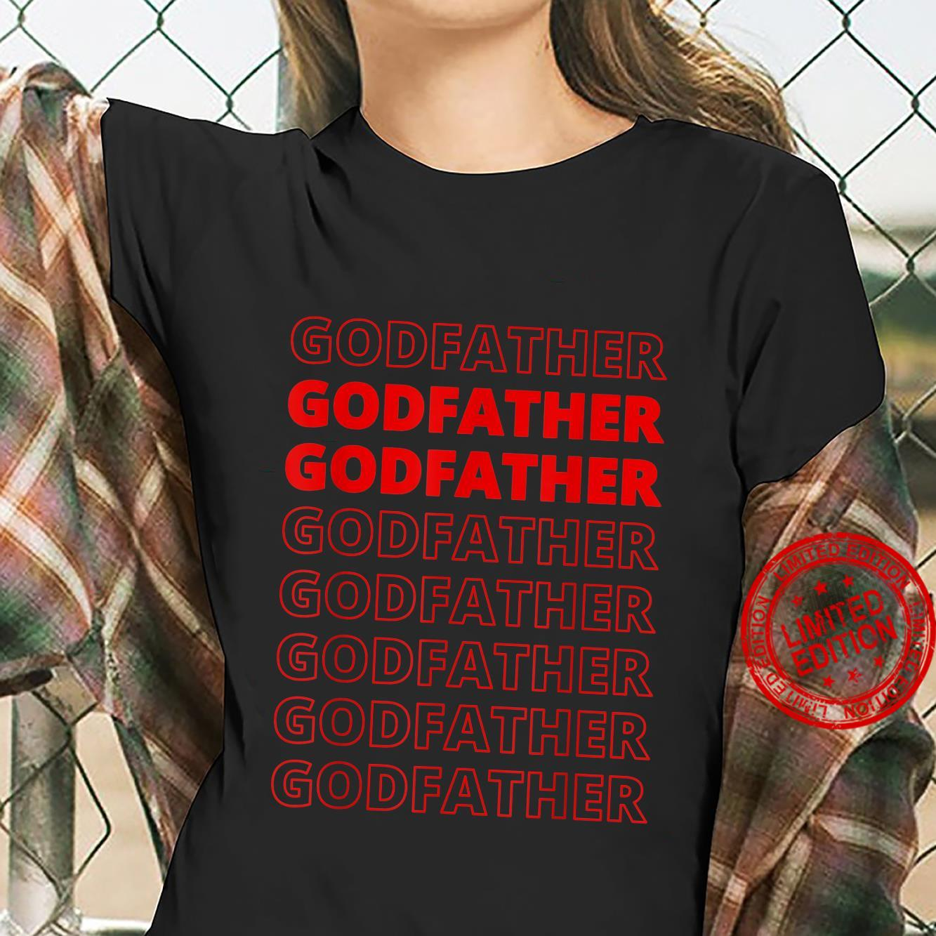 Godfather Aesthetic Modern Style Family Matching Shirt ladies tee