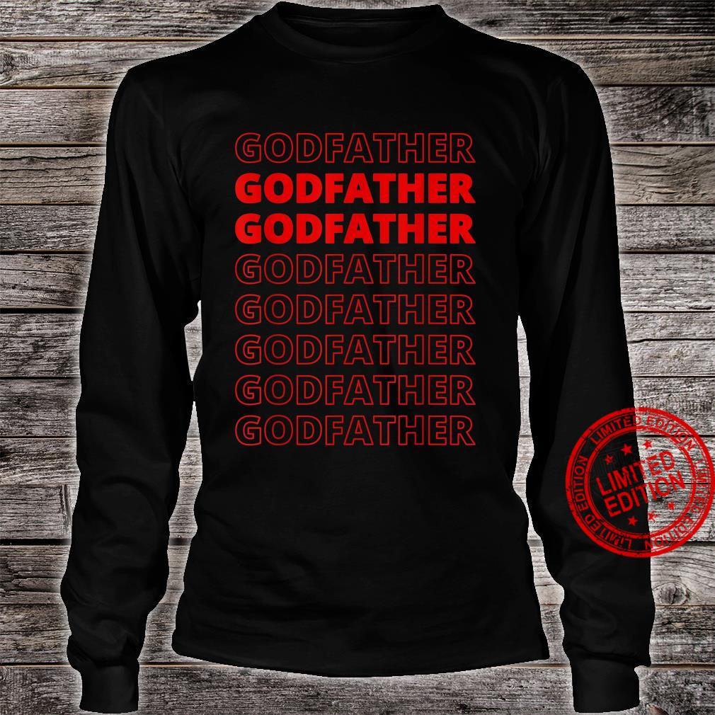 Godfather Aesthetic Modern Style Family Matching Shirt long sleeved