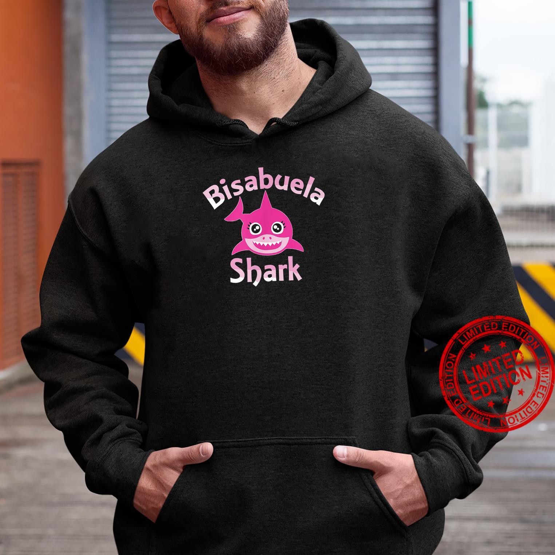 Great Grandma Shark Family Day Shirt hoodie