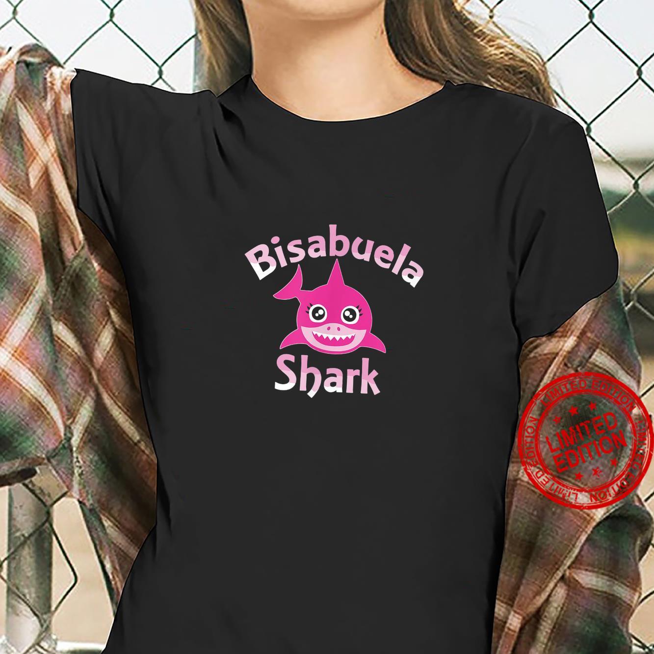 Great Grandma Shark Family Day Shirt ladies tee