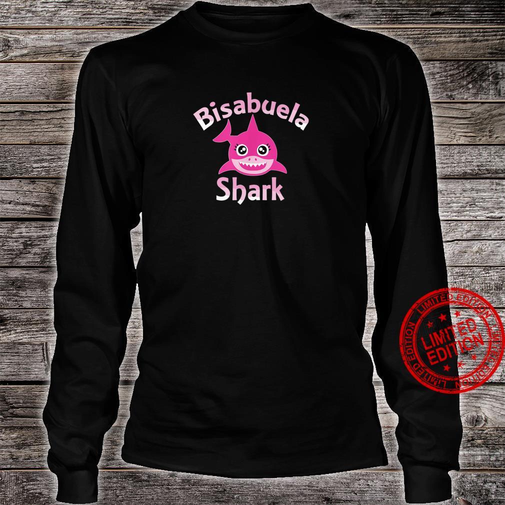 Great Grandma Shark Family Day Shirt long sleeved