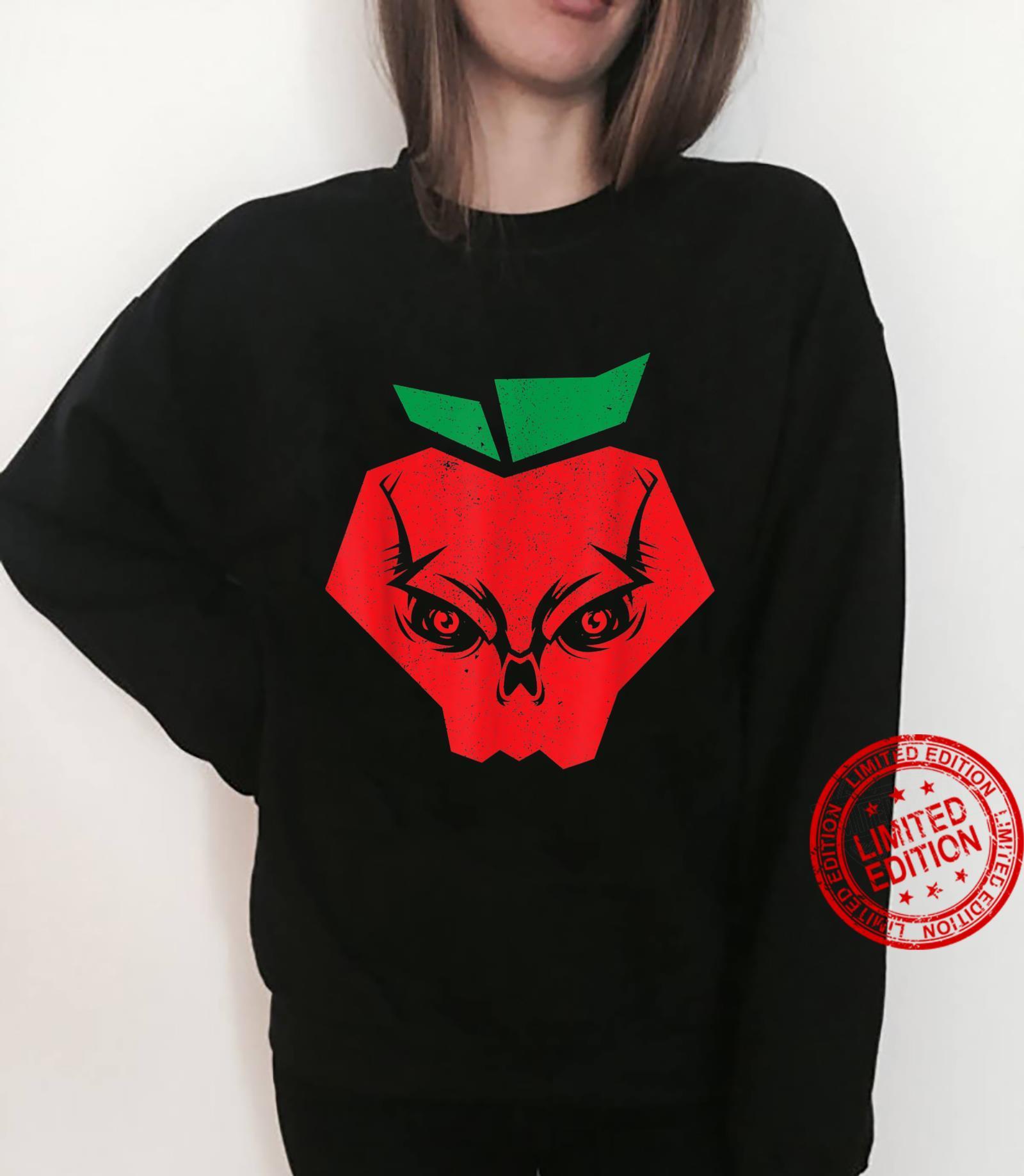 Halloween Apples Skeleton Red Apple Skull Bloodiness Shirt sweater