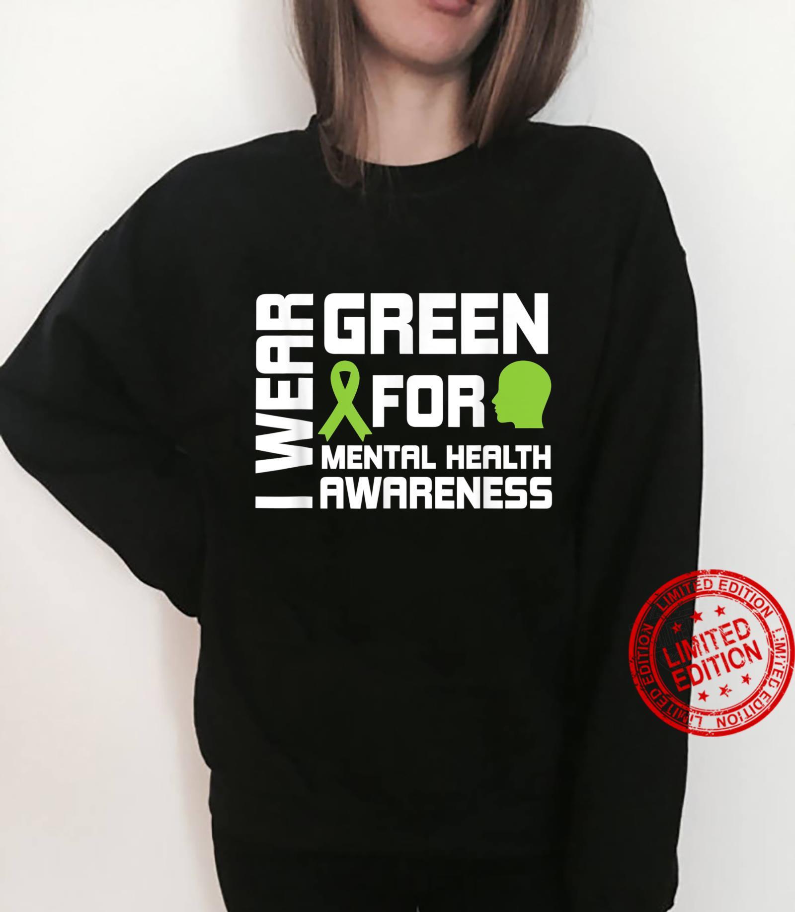 I Wear Greental Health Awareness Shirt sweater