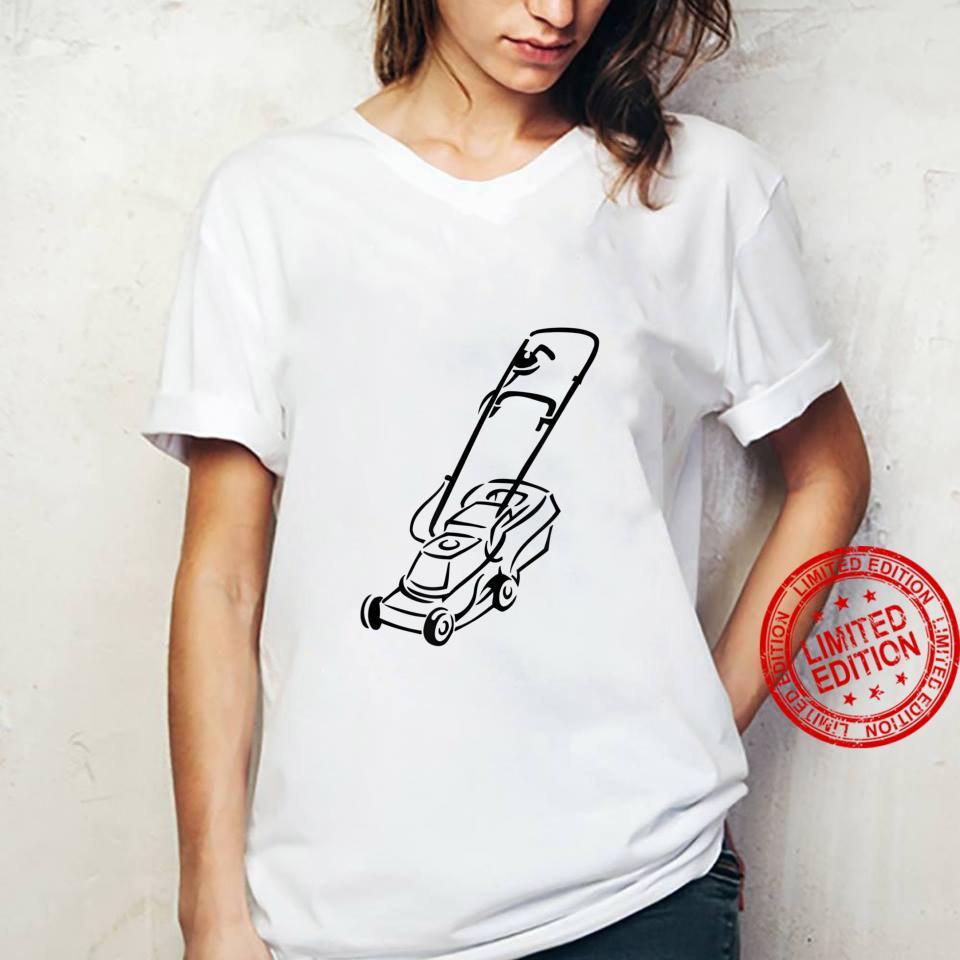 Lawnmower Shirt ladies tee