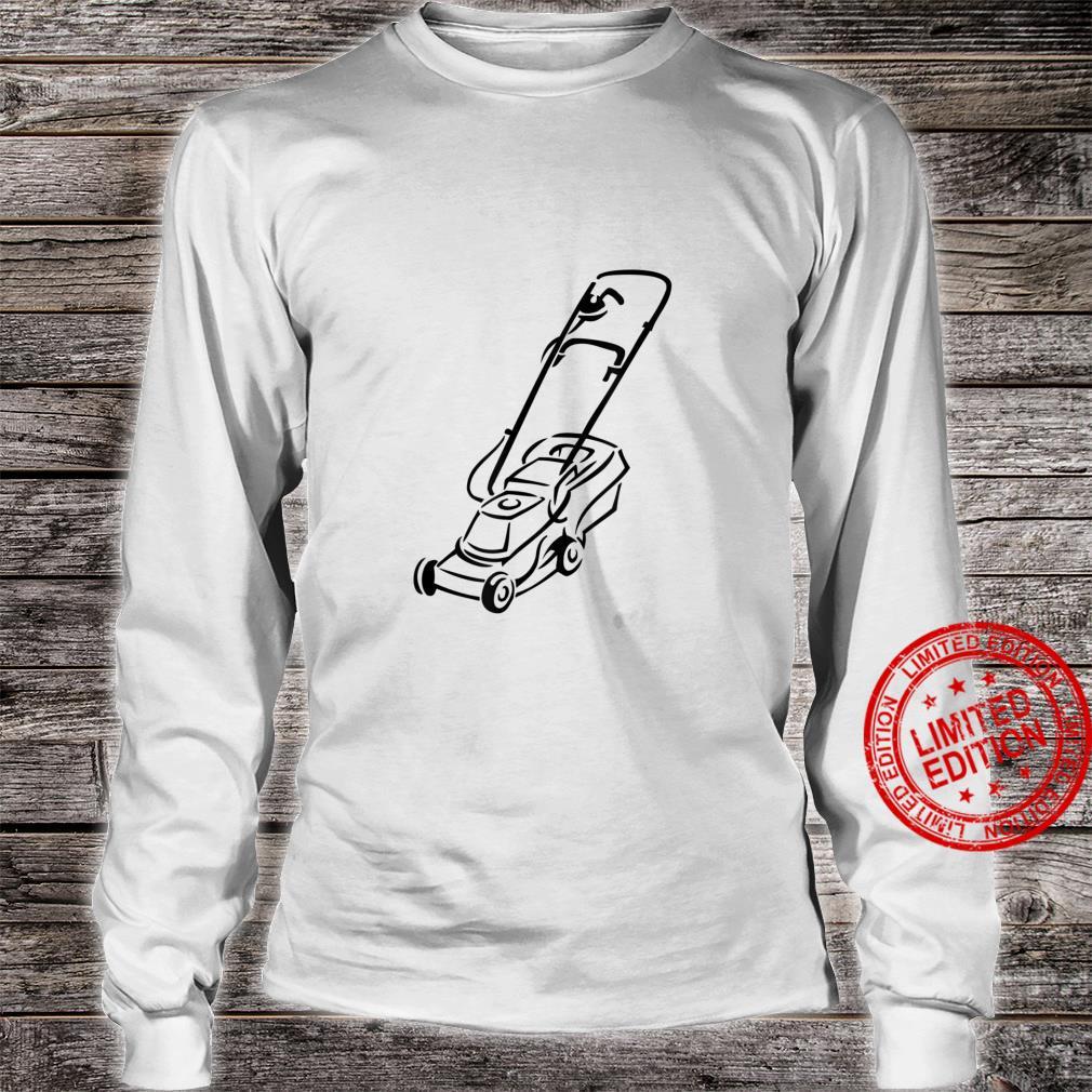 Lawnmower Shirt long sleeved