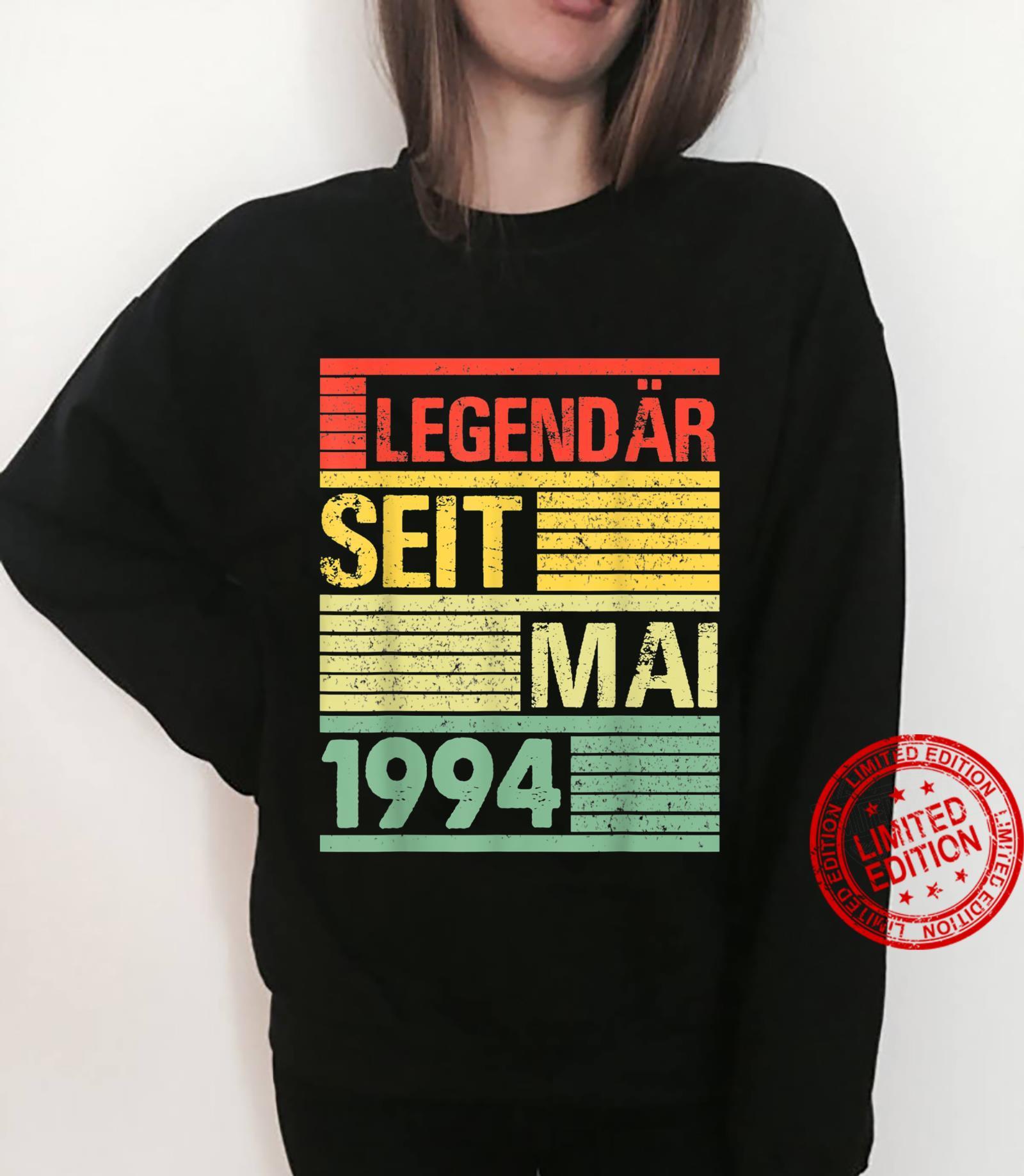 Legendär Seit Mai 1994 27. Geburtstag Shirt sweater