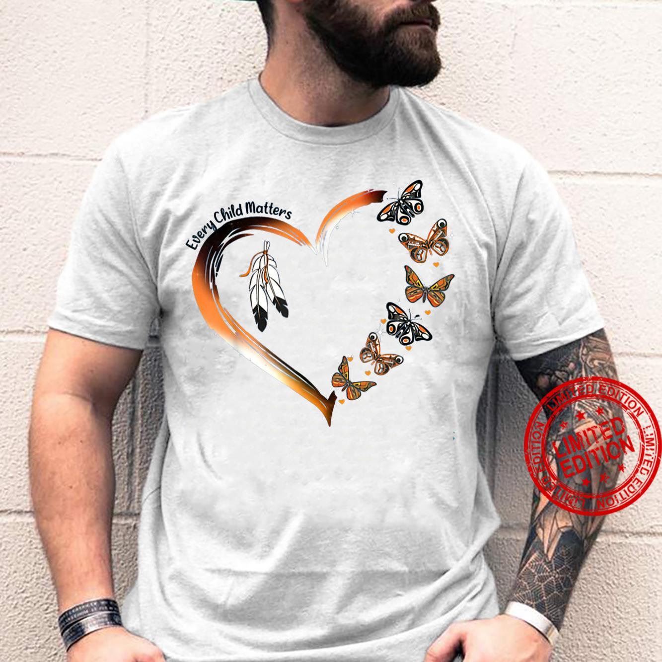 Love Native America Every Child Matters MMIW Inspirational Shirt