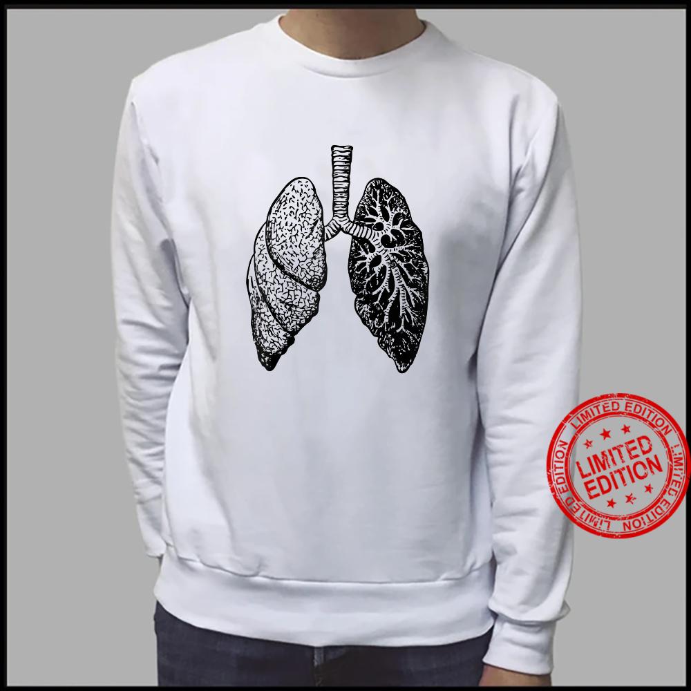 Lung Diagram Shirt Doctor Nurse Lungs Chart Shirt sweater