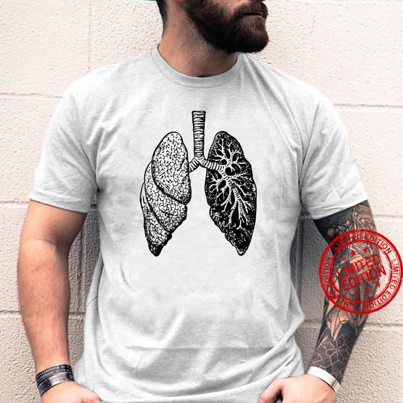 Lung Diagram Shirt Doctor Nurse Lungs Chart Shirt