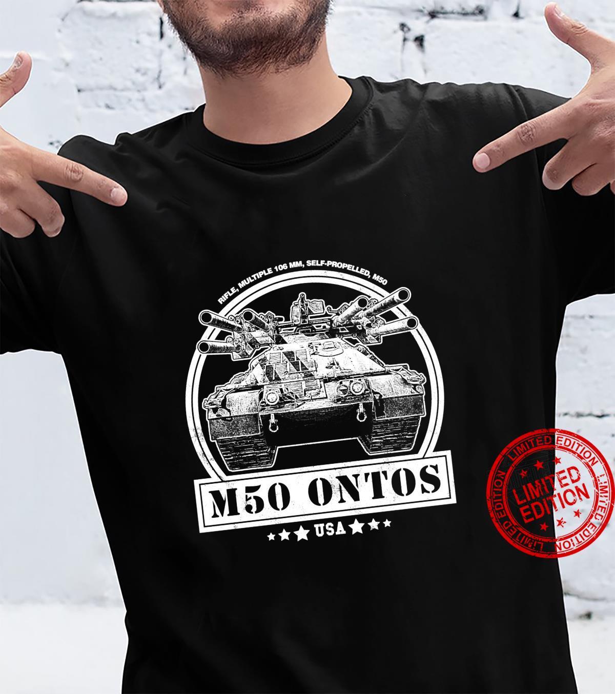 M50 Ontos Thing Tank Destroyer Shirt