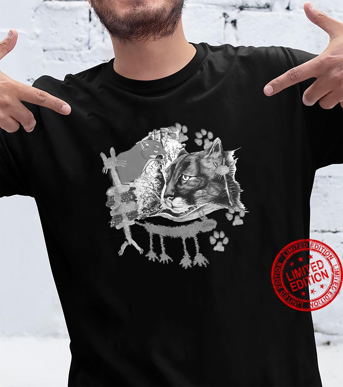 Many lions, petrographs and artwork. Shirt