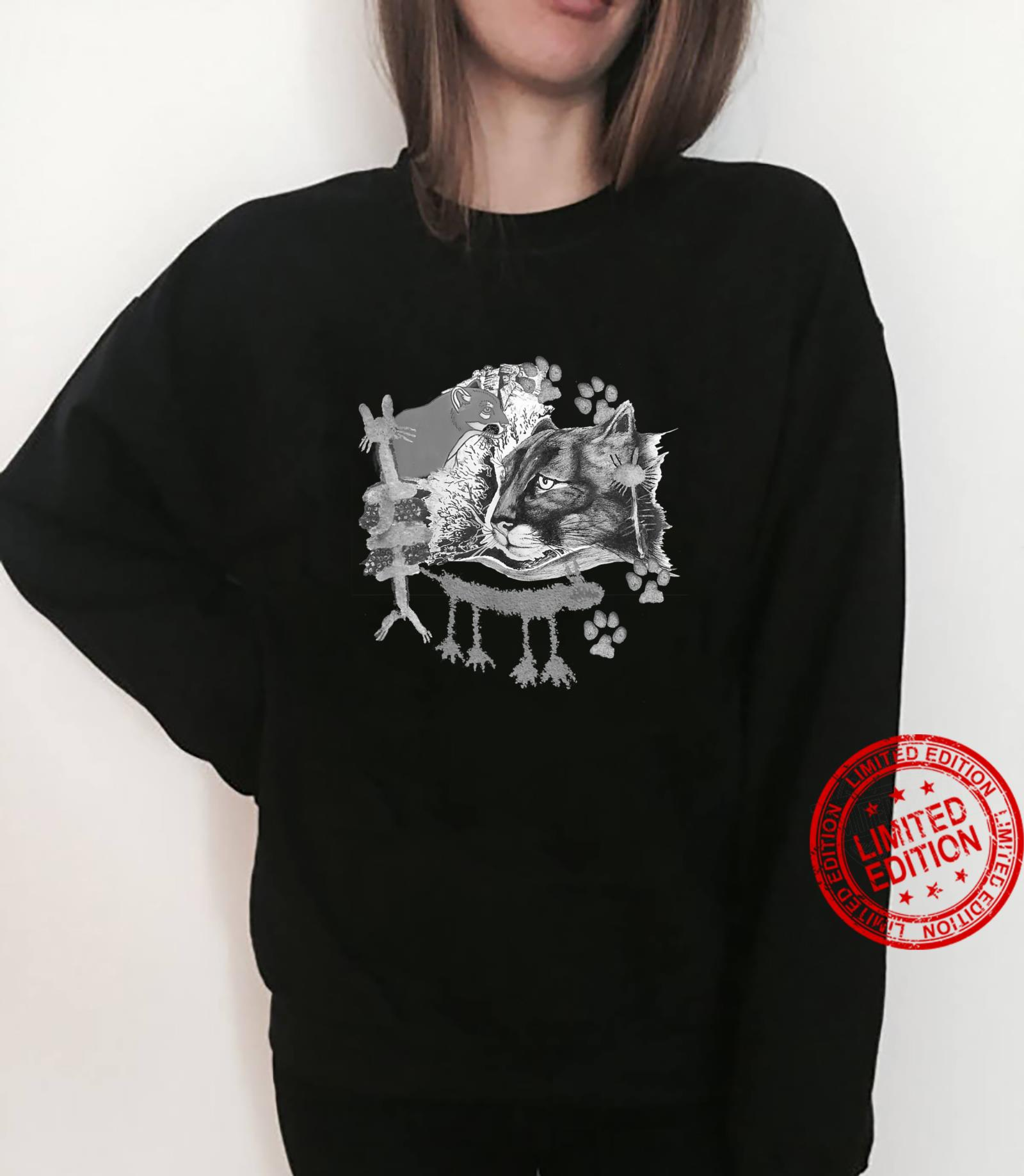 Many lions, petrographs and artwork. Shirt sweater