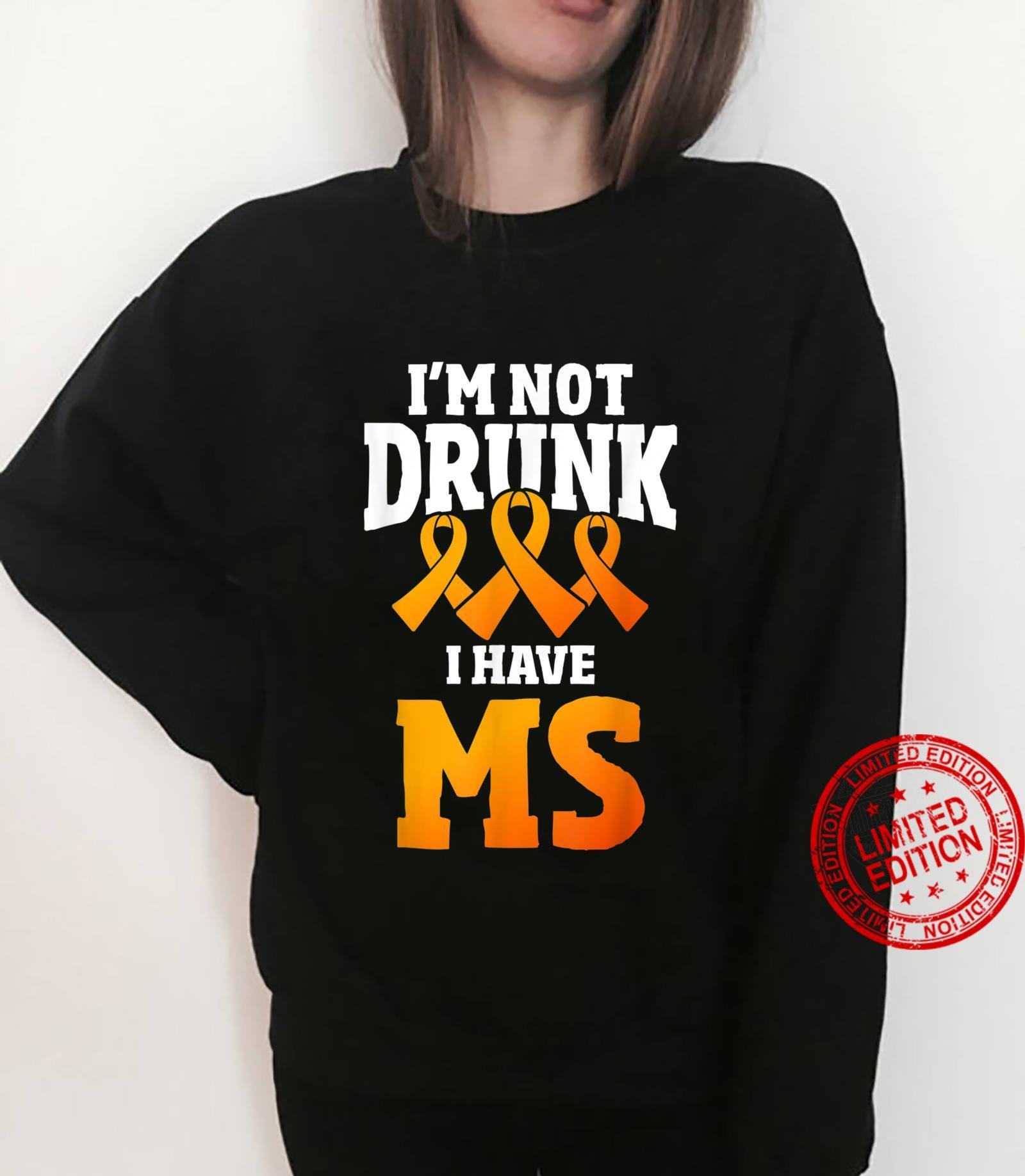 Multiple Sclerosis Patient Autoimmune Disease Orange Ribbon Shirt sweater