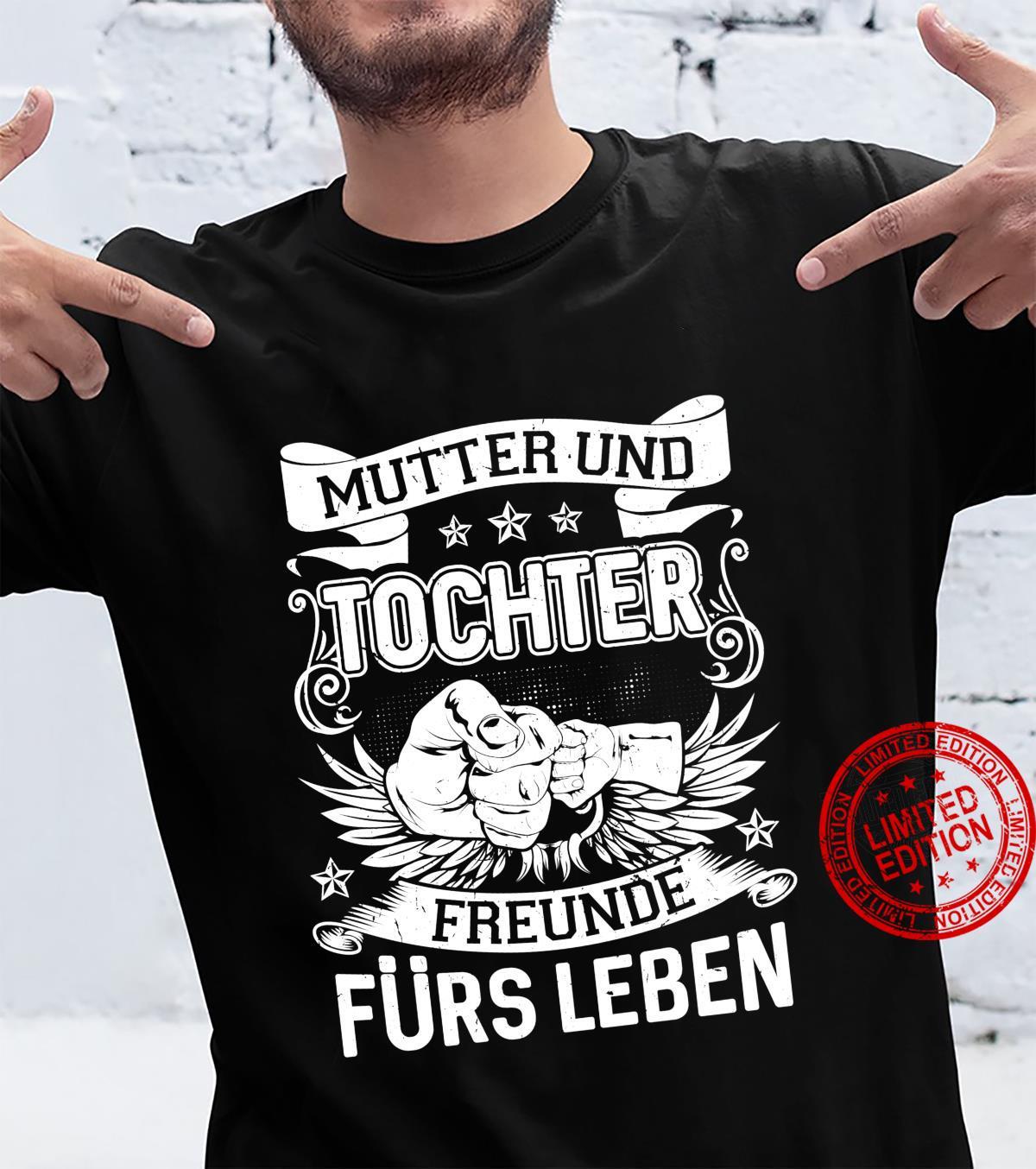 Mutter Tochter Partnerlook Freunde Fürs Leben Muttertag Langarmshirt Shirt
